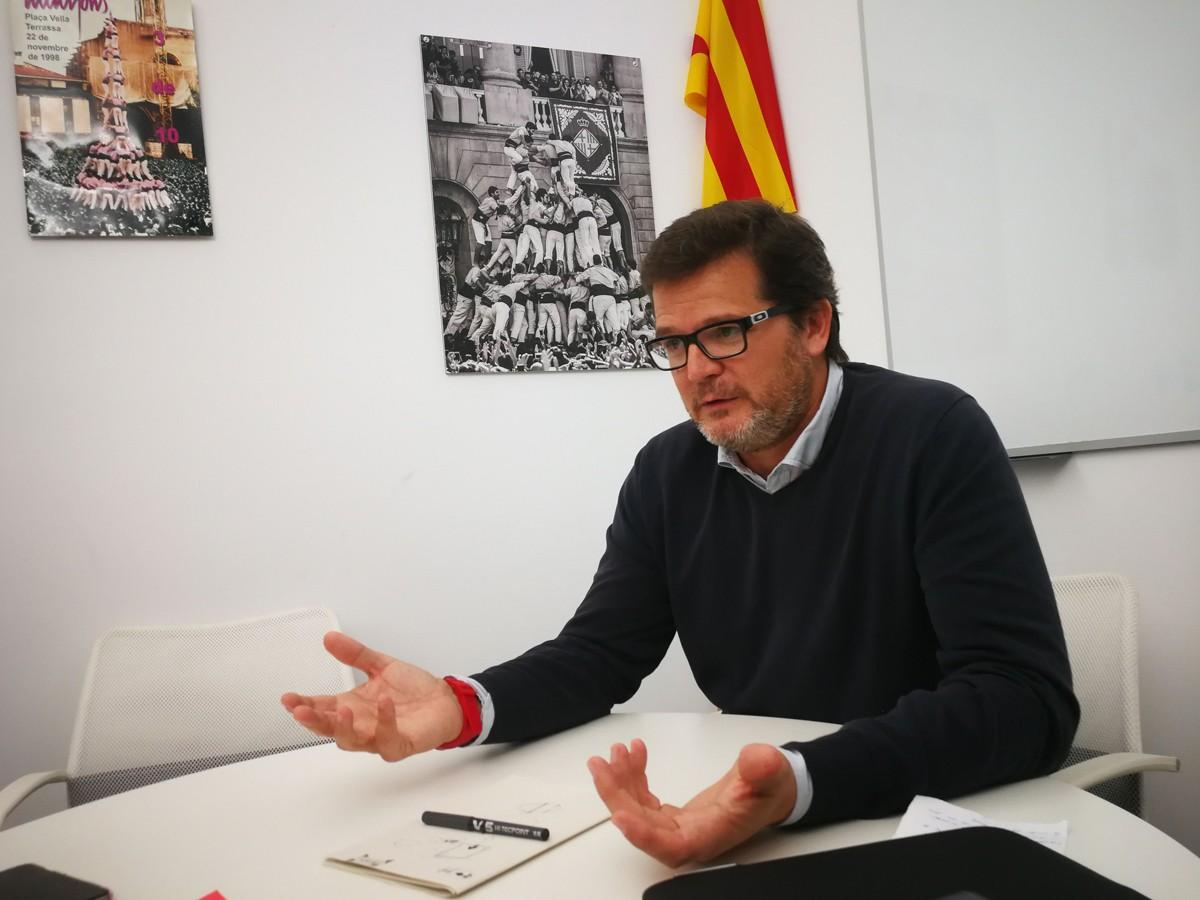 El candidat a l'alcaldia per ERC-MES a Terrassa, Isaac Albert